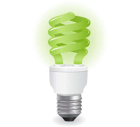 ecological lightbulbs icon