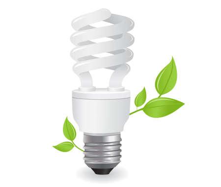 icono de bombillas ecol�gicas en formato