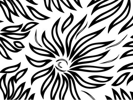 pattern on a white background Stock Vector - 7988608