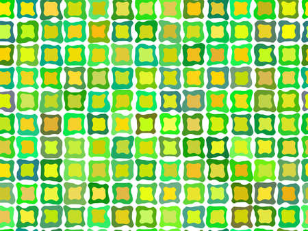 Retro green tiled background pattern Stock Vector - 7986528