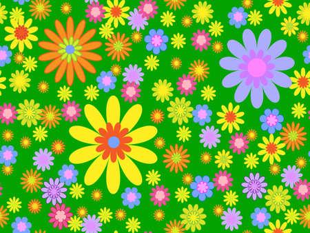 Fondo transparente de floral brillante