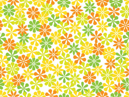 seamless  floral background.vector illustration Stock Vector - 8155651