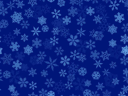 pastiche:  seamless   background of transparent snowflakes