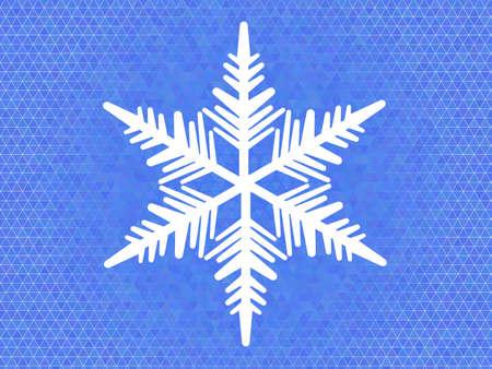 pastiche: vector winter  background