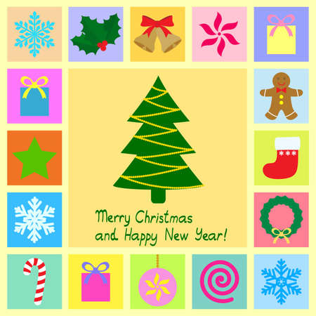 christmas theme symbols