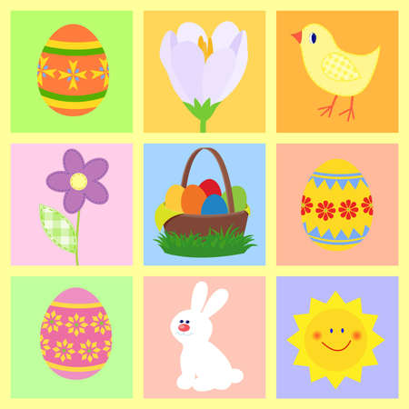 easter theme symbols photo