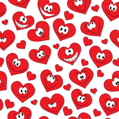 caritas pintadas: fondo transparente de sonre�r corazones