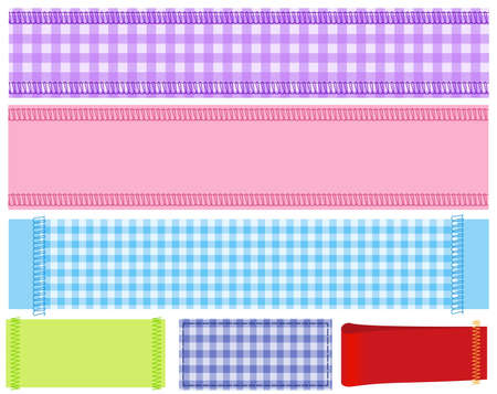 fabric banner Stock Vector - 11276958