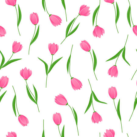 vector seamless  pattern of flowers Stock Vector - 11276932
