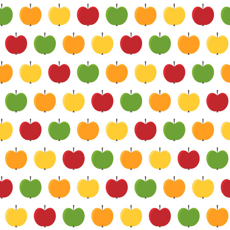 seamless background from apples