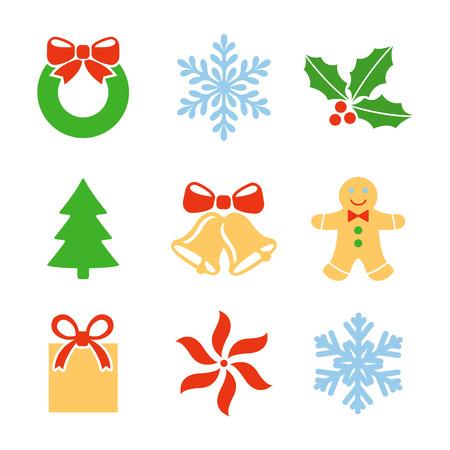 natal:  christmas theme symbols