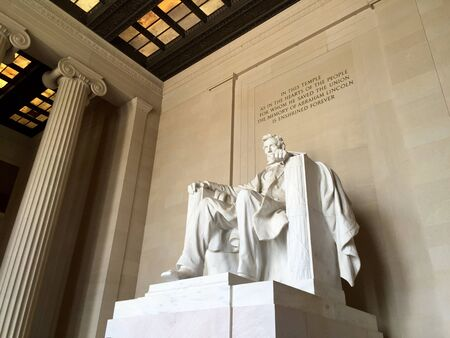 dc: Lincoln memorial in Washington DC