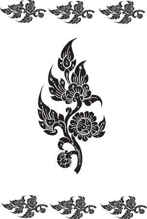 rekodzielo: tekstury kwiatu Ilustracja