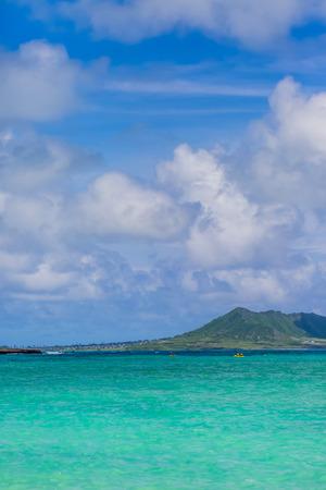 Lanikai in Oahu Island