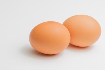 Egg on white backgroud