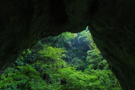 羅生門、岡山県の石橋