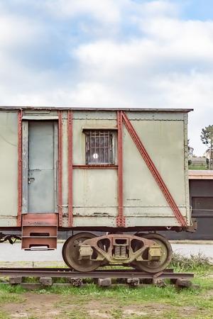 Old railroad car 版權商用圖片
