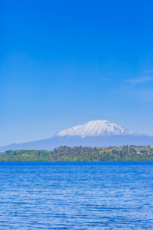 Llanquihue lake in Chile