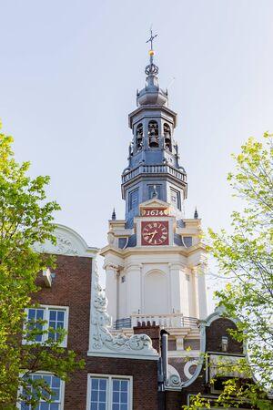 south church zuider kerk, amsterdam 写真素材