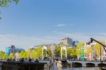 mahle's drawbridge and amstel river