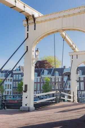 mahles drawbridge and amstel river