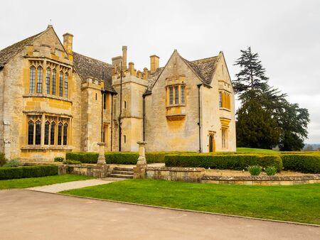 manor house in cotswolds, uk 写真素材
