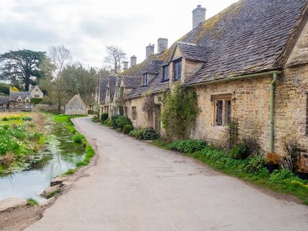 view of cotswolds in uk 免版税图像 - 132119195