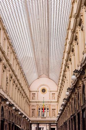 royal galerie of st. hubert in brussels