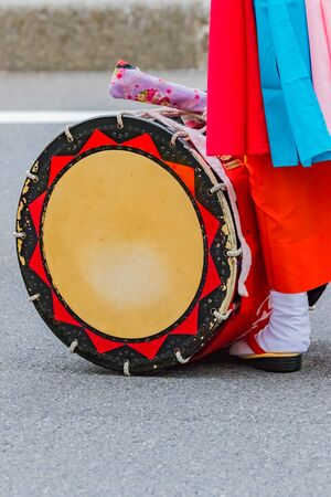 Traditional Japanese Dance Festival, Okinawa eisa