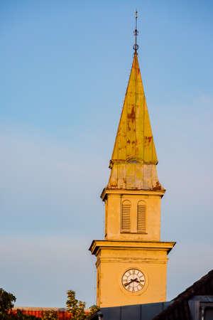 view of downtown Trondheim, Norway Stock fotó