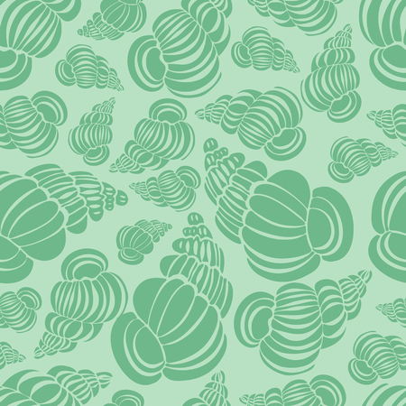 Seamless pattern with shells,seashells, vector illustration