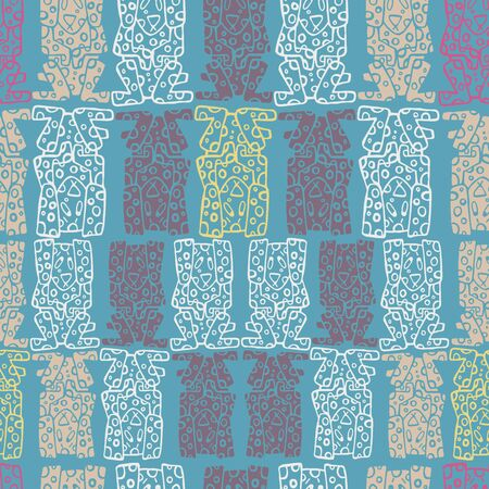 Seamless pattern of dogs