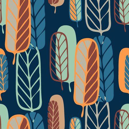 Beautiful and stylish stylized trees.