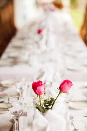 venue: Wedding venue decoration for the reception
