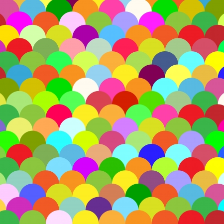 abstract colorful background scales Vector