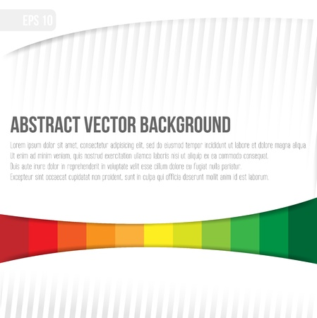 abstract vector background colored bars under the paper