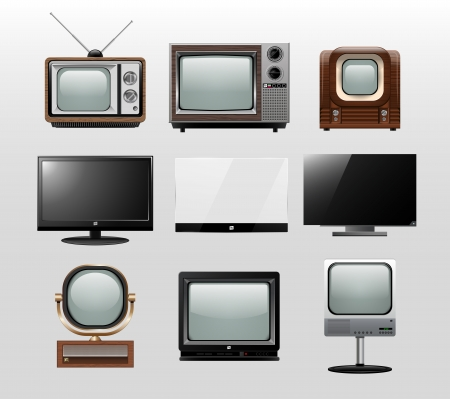tv icon: TV set