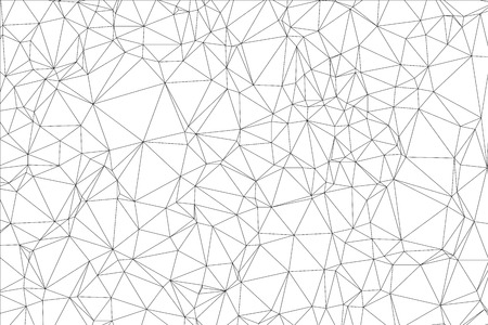 Background black and white polygon. Geometric backdrop.
