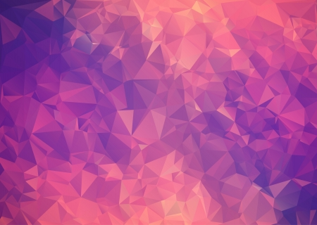 Purple pink abstract background polygon. Geometric backdrop.