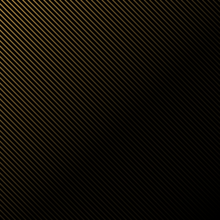 Simple black background in gold stripes