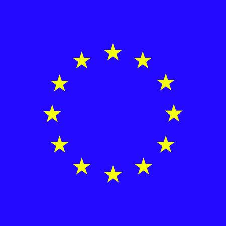 European Union. EU flag. EPS 8