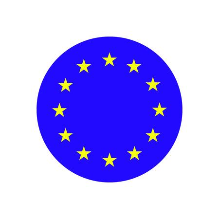 eu: European Union. EU flag icon