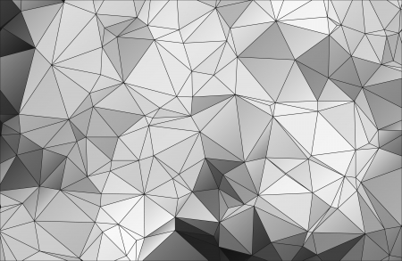 Black and white abstract background polygon Stock Vector - 25326636