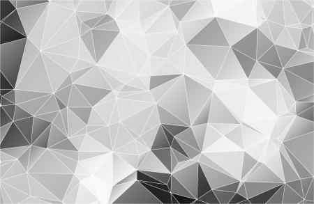 黒と白の抽象的な背景ポリゴン