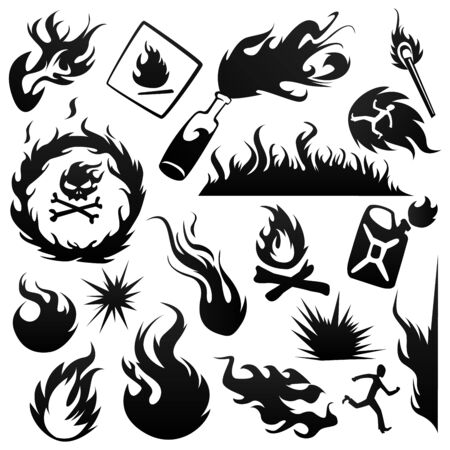 molotov: Set of fires