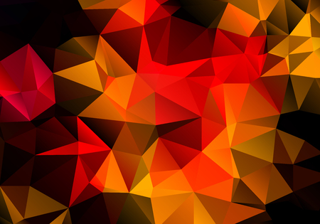 Bright contrast abstract multicolored triangle background polygon