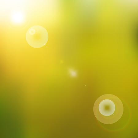 brightly: Sun shines brightly Illustration