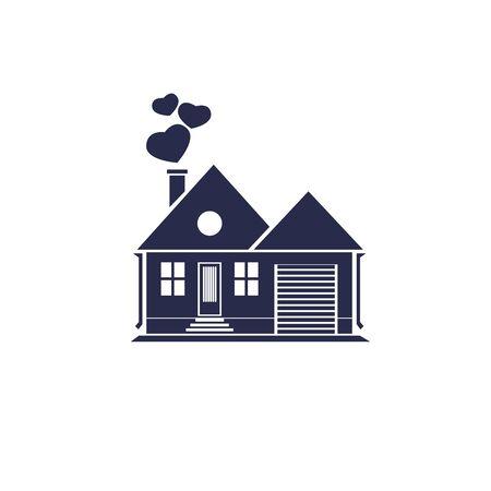 Home sweet home Standard-Bild - 36794727