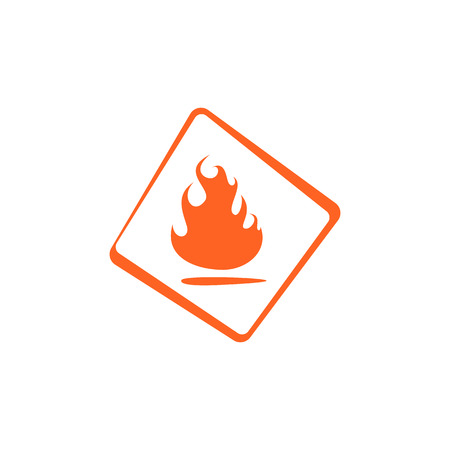 symbol flammable: flammable symbol
