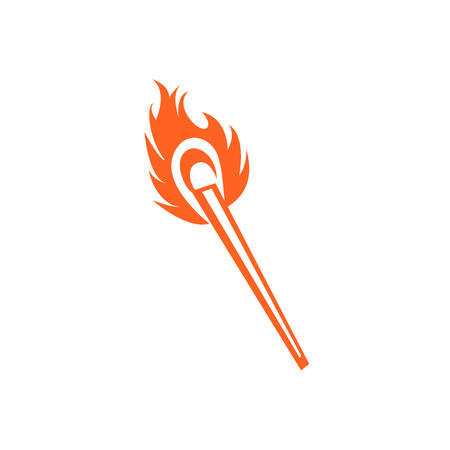 burning: burning matches